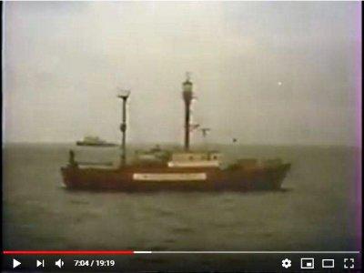 2020: Уникальное видео с плавучим маяком от 1985 года